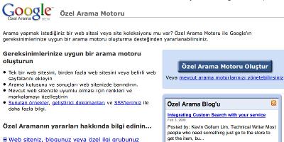 Google Özel Arama Motoru Site Arama ve Daha Fazlası
