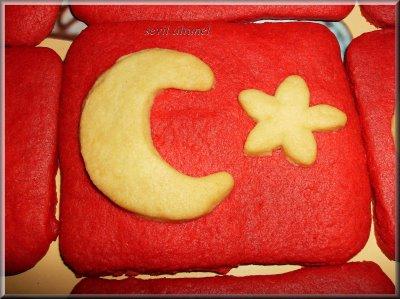 Ay yıldızlı kurabiye