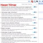 Google Chrome eklentisi: Hasan Yılmaz Net