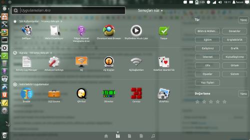 Ubuntu 11.10 - Başlatıcı