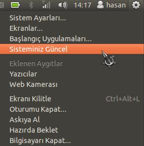 Ubuntu 11.10 - Güç düğmesi