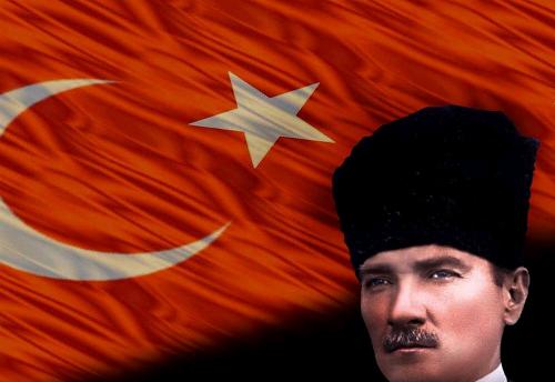 turk-bayragi-mustafa-kemal-ataturk
