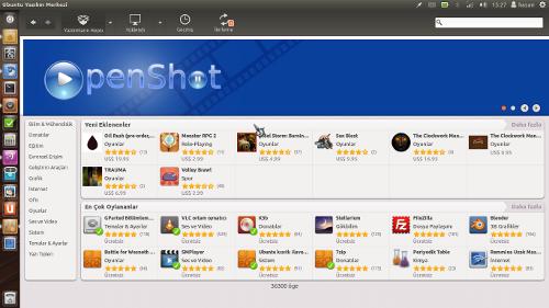 Ubuntu 11.10 - Yazılım Merkezi