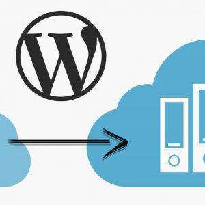 wordpress sunucu değiştirme